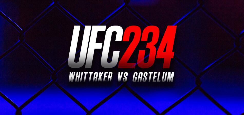 UFC 234 image