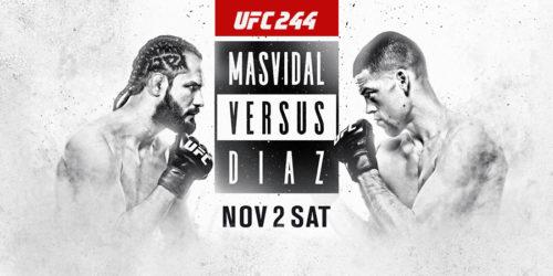 UFC 244 – Masvidal vs Diaz Image