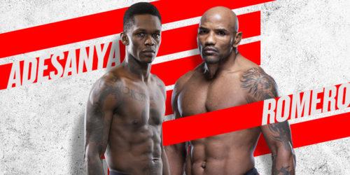 UFC 248 ADESANYA VS ROMERO Image