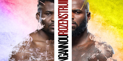 UFC Fight Night NGANNOU VS ROZENSTRUIK Image