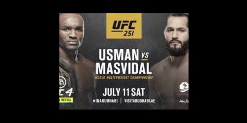 UFC 251 – USMAN vs MASVIDAL Image