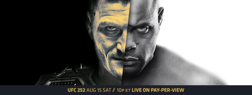 UFC 252 – MIOCIC VS CORMIER image