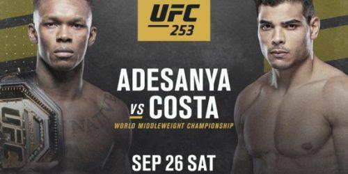 UFC 253 – ADESANYA VS COSTA Image