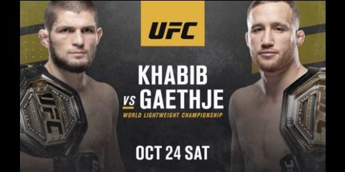 UFC 254 – KHABIB VS GAETHJE Image