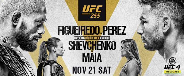 UFC 255 image