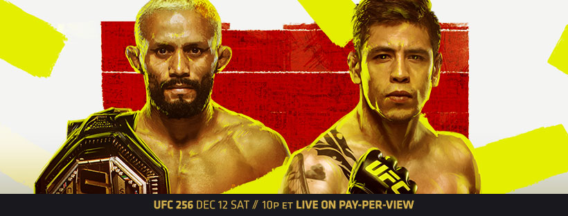 UFC 256 image