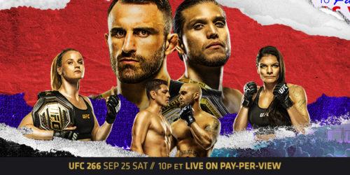UFC 266 Image